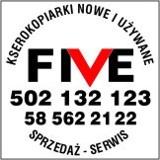 Logo firmy Kserokopiarki-Five Tomasz Wiśniewski