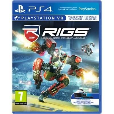 RIGS Mechanized Combat League Gra playstation 4 SONY INTERACTIVE ENTERTAINMENT