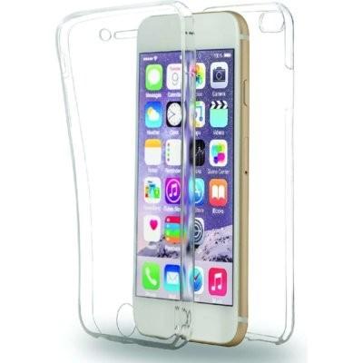 Etui AZURI Ultra cienkie TPU Apple iPhone 6, przód i tył, transparentne