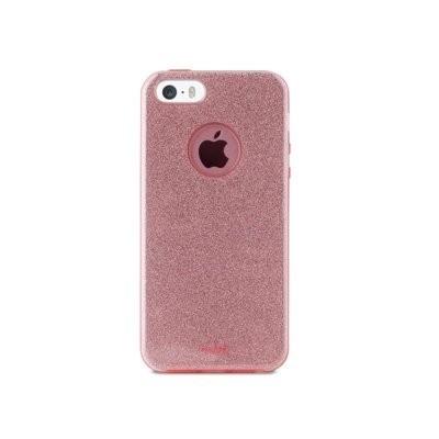 Etui PURO Glitter Shine Cover do iPhone 5/5s/SE Różowy