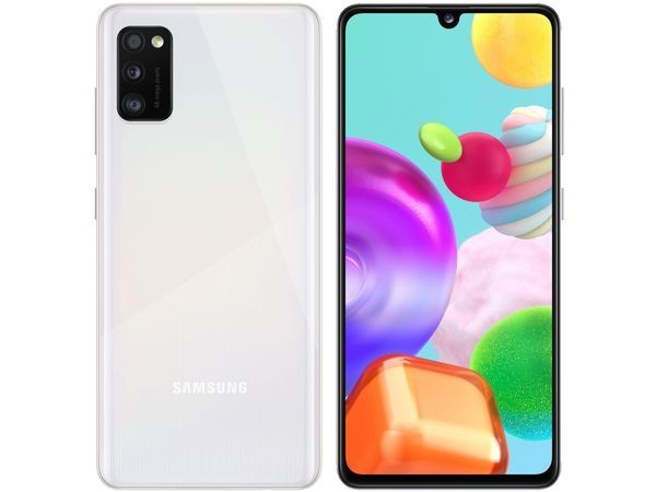 SAMSUNG Galaxy A41 Biały (A415F)