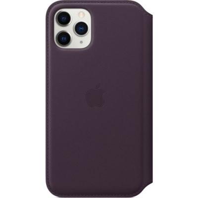 Etui APPLE Leather Folio do iPhone 11 Pro Max Fioletowy