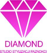 Logo firmy Studio Stylizacji Paznokci Diamond