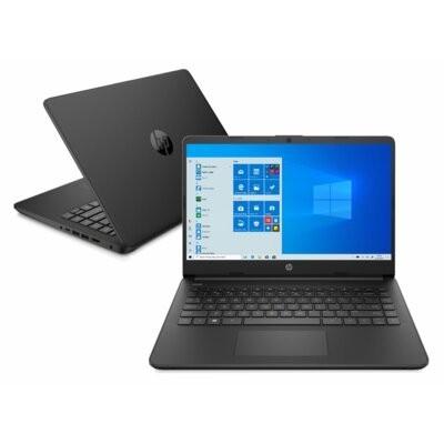 Laptop HP 14s-dq0022nw HD Celeron N4020/4GB/128GB SSD/INT/Win10H Czarny