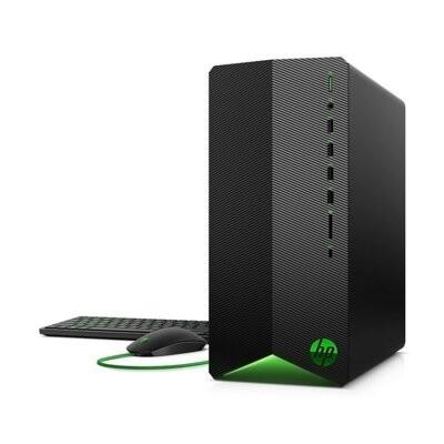 Komputer stacjonarny HP Pavilion Gaming TG01-0027nw Ryzen 5 3500/8GB/512GB SSD/GTX1650Super 4GB/Win10H Czarny. Klasa energetyczna AMD Ryzen™ 5 3500