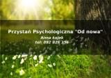 """Logo firmy Przystań Psychologiczna """"Od nowa"""""""