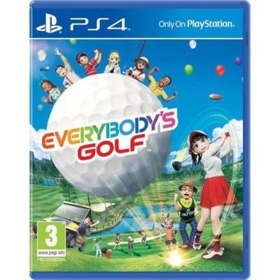 Everybody's Golf Gra playstation 4 SONY INTERACTIVE ENTERTAINMENT