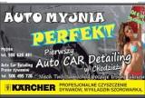 """Logo firmy Auto Myjnia """"Perfekt"""" Mirosław Bartkowiak"""