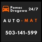 Logo firmy Auto-Mat Pomoc Drogowa Auto Pomoc Mobilny Serwis Wulkanizacja TIR