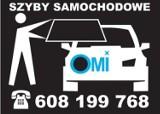 Logo firmy SZYBY SAMOCHODOWE  OMI MARIUSZ WILK