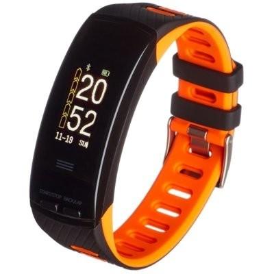 Smartband GARETT Fit 23 GPS Czarno-pomarańczowy