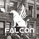 Logo firmy FALCON VISUAL | creative agency