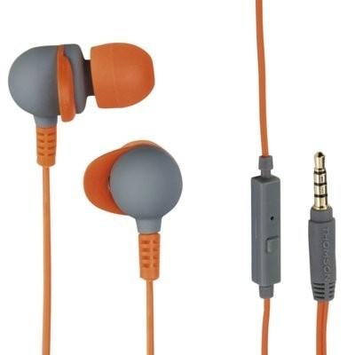 Słuchawki dokanałowe THOMSON EAR3245 Pomarańczowo-szary