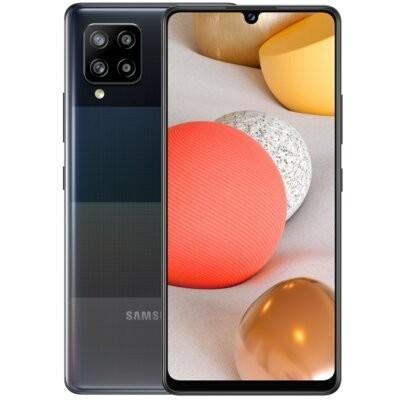 """Smartfon SAMSUNG Galaxy A42 4/128GB 5G 6.6"""" Czarny SM-A426 + Zabezpieczenie ekranu"""
