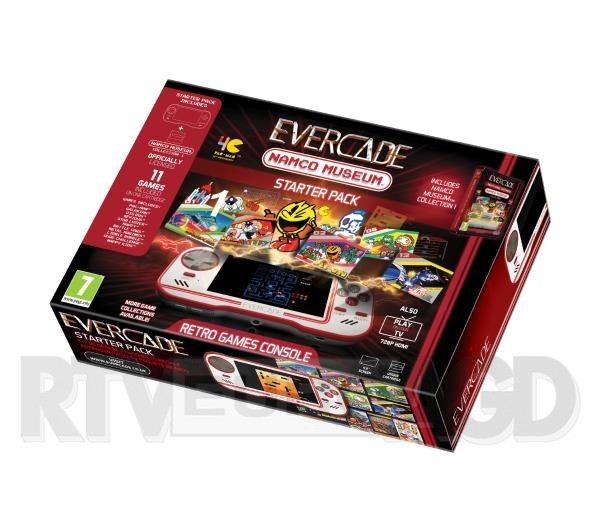 Evercade Starter Pack Namco Museum Collection 1