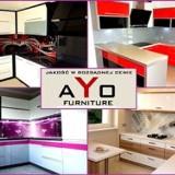 Logo firmy AYO FURNITURE. Meble na Wymiar