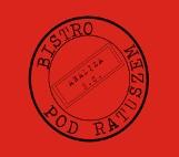 Logo firmy bistro POD RATUSZEM