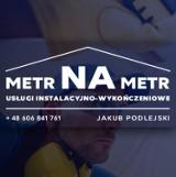 Logo firmy Metr na Metr - Instalacje i wykończenia mieszkań
