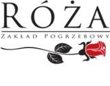 """Logo firmy Zakład Pogrzebowy """"Róża"""""""