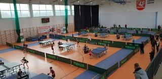 Turniej Tenisa Stołowego w Gminnej Hali Sportowej w Gdowie