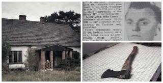 """Tak dziś wygląda """"dom zły"""", gdzie Józef Pluta zamordował 4 osoby"""