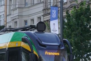 Poznań udekorowany z okazji gry Lecha w Lidze Europy