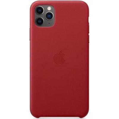 Etui APPLE Leather Case do iPhone 11 Pro Max Czerwony