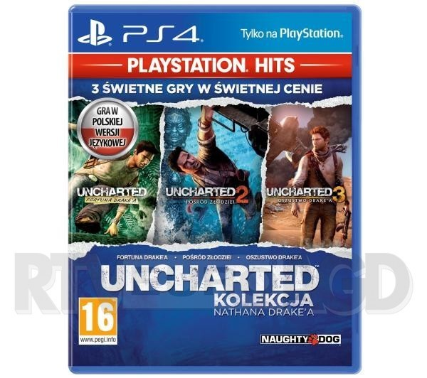 Uncharted: Kolekcja Nathana Drake'a - PlayStation Hits PS4 / PS5
