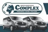 Logo firmy Marcin Marciniuk COMPLEX przewóz osób i paczek, Piła, Ul. Dąbrowskiego 8