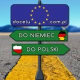 Logo firmy BUS POLSKA - NIEMCY przewóz osób Warszawa - Monachium/Bawaria - W-wa