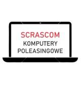 Logo firmy Scrascom laptopy poleasingowe jak nowe z gwarancją 12 miesięcy