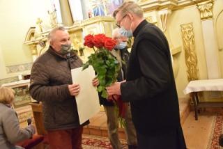 Parafianie z Korczewa koło Zduńskiej Woli pożegnali ks. Szudzika