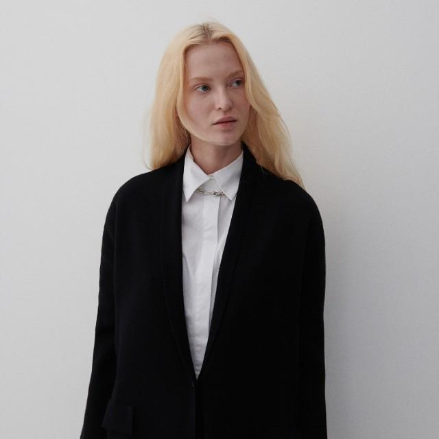 Reserved - Dzianinowy sweter - Czarny