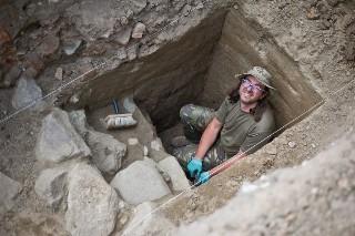 Co archeolodzy wykopali na terenie zamku krzyżackiego w Świeciu?