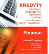 Logo firmy Finanse Jolanta Przepióra