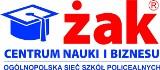 """Logo firmy Centrum Nauki i Biznesu """" ŻAK"""" Sp. z o.o."""