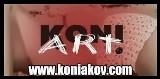 Logo firmy koniakowskie koronki KONI-ARt