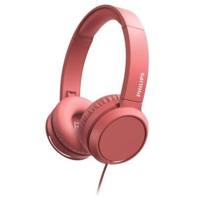 Słuchawki nauszne PHILIPS TAH4105RD/00 Czerwony