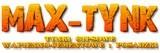 """Logo firmy Usługi Budowlane 'MAX - TYNK"""" Watras Henryk"""