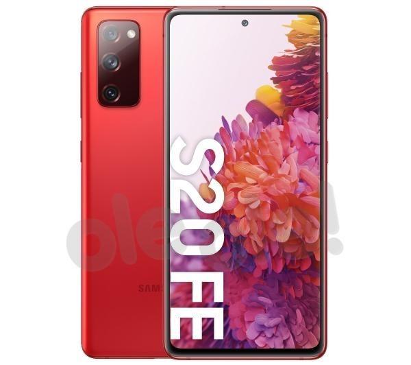 Samsung Galaxy S20 FE (czerwony)