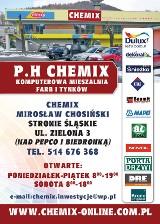 Logo firmy CHEMIX
