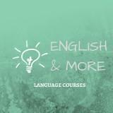 Logo firmy English And More Stara Miłosna Szkoła Języków Obcych