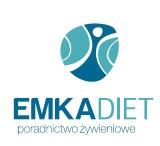 Logo firmy EMKADIET PORADNICTWO ŻYWIENIOWE