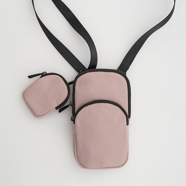 Reserved - Saszetka z portfelem - Różowy