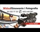 Logo firmy Wideofilmowanie i Fotografia