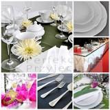 Logo firmy Wypożyczalnia Naczyń i Sprzętu Cateringowego Perfekcyjne Przyjęcia