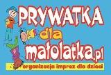 Logo firmy organizacja imprez dla dzieci klauni- animacje z dojazdem do klienta