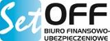 """Logo firmy """"SET OFF"""" Centrum Ubezpieczeń w Lublinie Grzegorz Żyłka Tanie OC"""