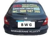 """Logo firmy """"Awaryjne otwieranie samochodów i mieszkań"""""""