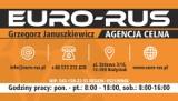 Logo firmy Agencja Celna EURO-RUS Grzegorz Januszkiewicz